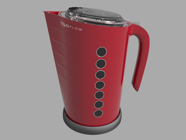 Electric Kettle Design by Iain McLean
