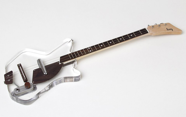Electric Loog Lucite Guitar for Kids