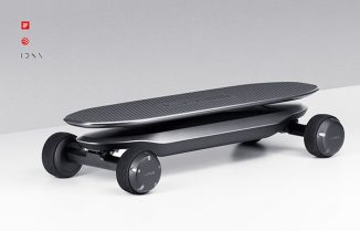 Naver Labs Balancing Electric Skateboard with Gyroscope Sensors Offer Super-Stable Skateboard
