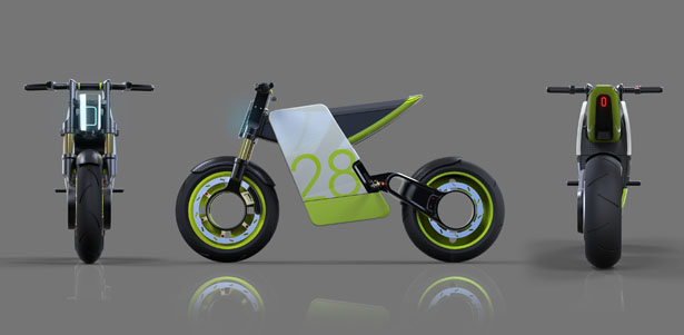 Electric Supermoto Concept by Eyal Melnick