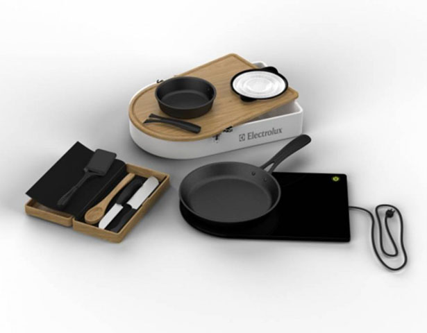 Mobile Kitchen Kit by Elizabeth Reuter