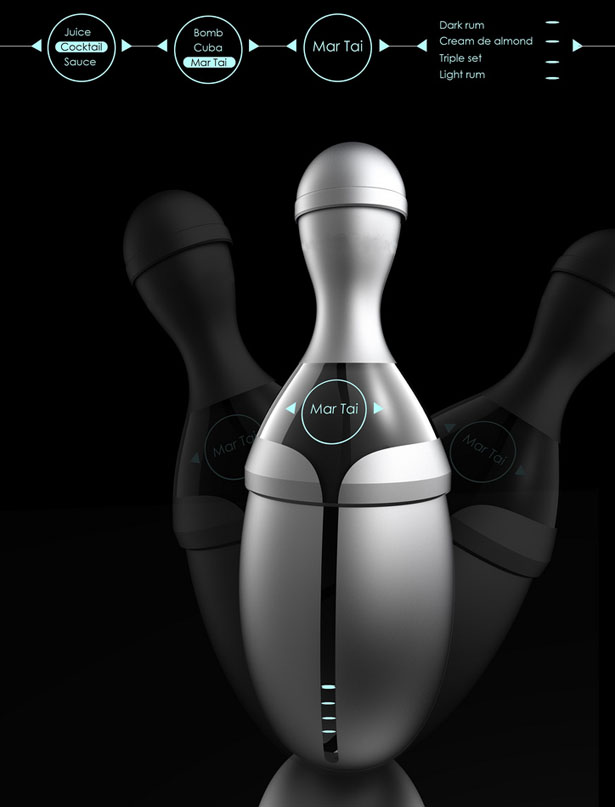 Electrolux Design Lab 2012 - Tempo Blender by Fu Chun Wan