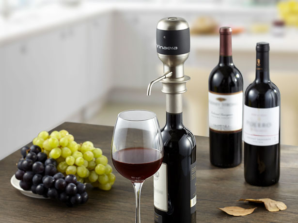 Electronic Wine and Spirit Aerator
