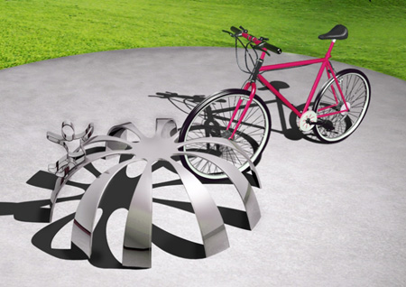 elevacion bicycle rack