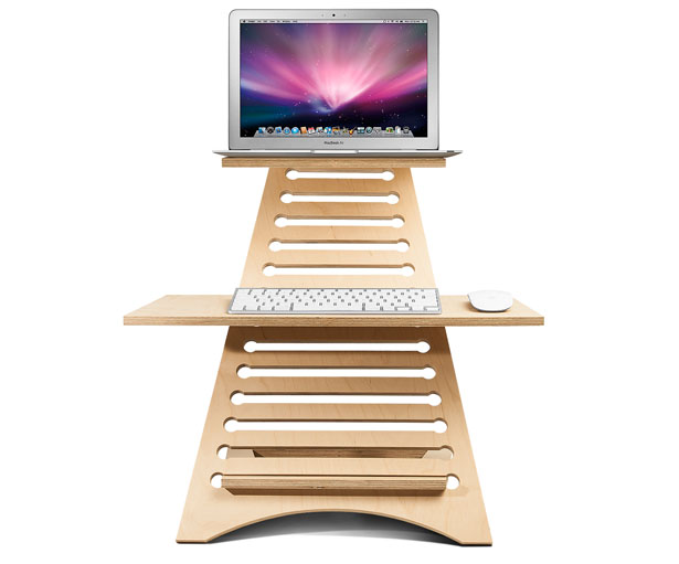 Elevate Portable Standing Desk to Improve Blood Flow and