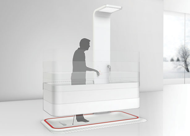 Elevated Bathtub for People with Limited Mobility