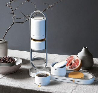 Eli – Automatic, Portable Coffee Brewer with Pour-Over Technique