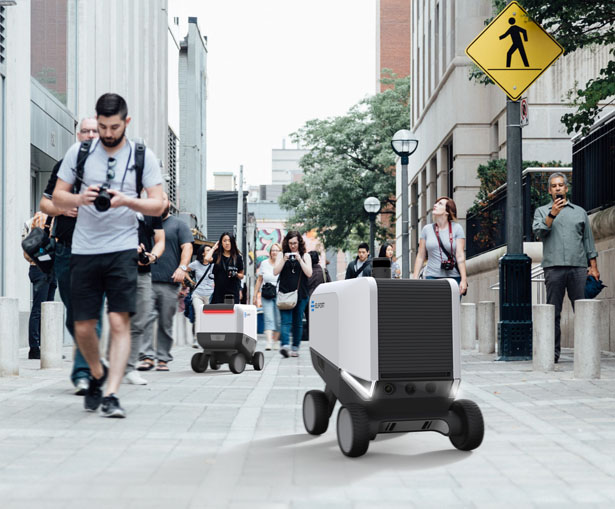 Eliport Autonomous Robot for Delivery Services