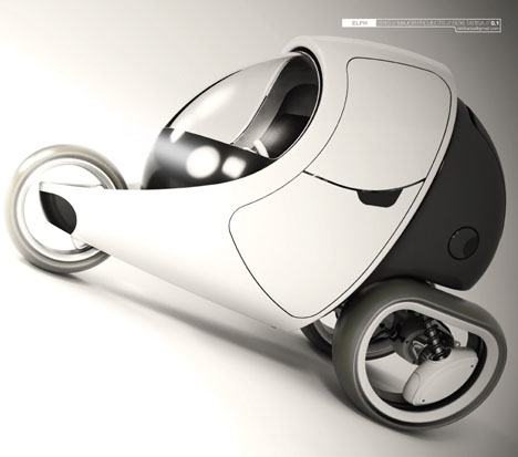 ELPH Future Personal Vehicle Powered By Hydrogen Fuel Cell For The Year 2025