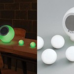 Eluma Lights Speaker System with 4 LED Balls to Set The Mood in Any Room