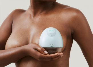 Elvie – Silent Wearable Smart Breast Pump Tracks Pumping History for Each Breast