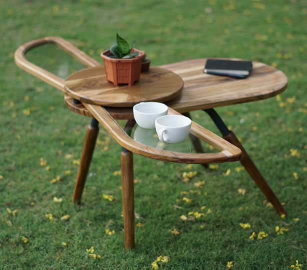 Elytra : A Winged Table Furniture Design by Radhika Dhumal