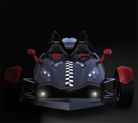 Energya : Stylish and High Performance Three-Wheeled Vehicle