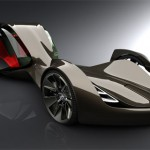 Futuristic Enigma Car Concept with Bio-Electric Hybrid Technology by Paul Howse