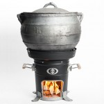 Entrofit M-5000 Wood Stove Produces Evenly Heat Distribution to Cook Faster
