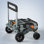 Erovr Multi-Purpose Folding Cart Wagon System by Elvis Henao