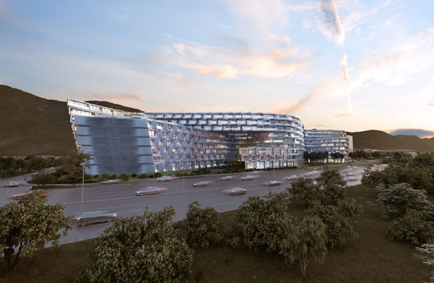 Esfera City Center by Zaha Hadid Architects