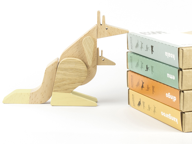 Esnaf Australia Wooden Magnetic Toys by Bistra Popova and Anastas Marchev of Archabits