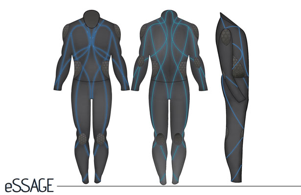 eSSAGE Massage Suit by Andre Cofield