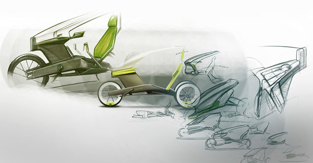 ESSENZ Concept Pedelec by Alexander Knorr and Florian Blamberger