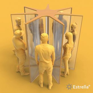 Estrella7 Social Distancing Meeting Point for Office or City Environment