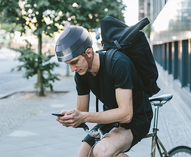 ESUB Tracks Helmet - Smart Urban Bicycle Helmet