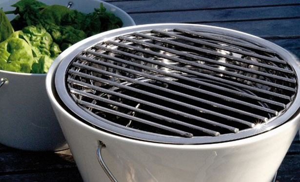 Eva Solo Table Grill Allows Everyone at The Table to Grill Their Own Food