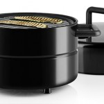 Enjoy The Smell of Charcoal Grilling with Portable Eva Solo To Go Grill