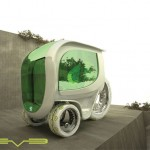 Eve, 3 Passengers Electic Vehicle Concept