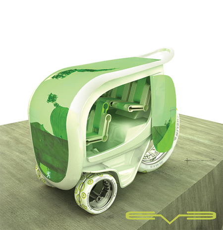 eve futuristic personal vehicle
