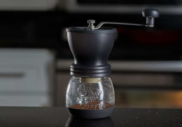 EvenGrind Coffee Grinder by Kuissential