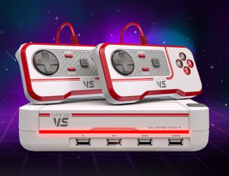 Evercade VS – Powerful Mini Retro Gaming Console Supports Up To Four Players
