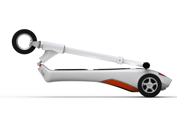 Everywhere Foldable Electric Scooter