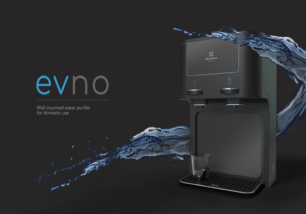 EVNO Water Purifier Concept Offers Refreshing Experience of The Flow of Fresh Water