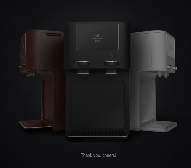 EVNO Water Purifier Concept by Harsh Thacker and Kristin Francis