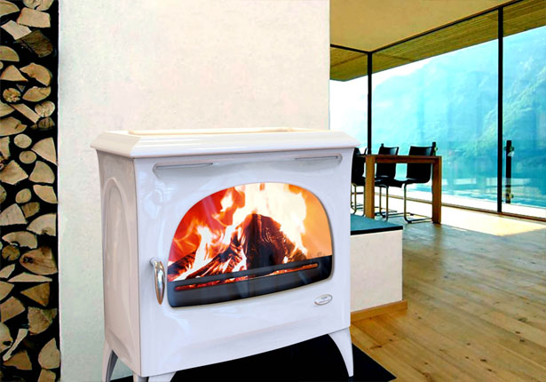 Evolution Wood Stove by Jerome Olivet