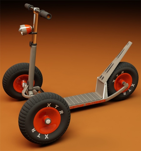 exciting triton scooter