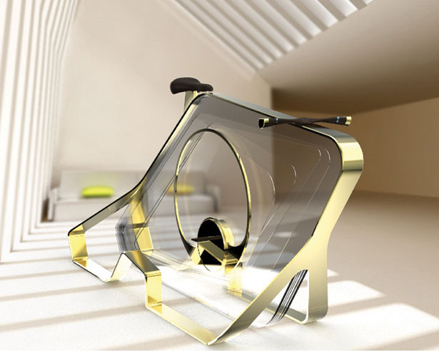 Shard: Hard-Work and Tech that Light Up The Dark - Exer-cycle and Light in One by Artifact Design