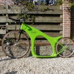 Exion Carbon Fiber Footbike by Cees Bakker