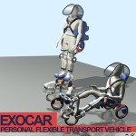 Exocar for Future Personal Transportation : Run, Walk, Roll, or Just Drive