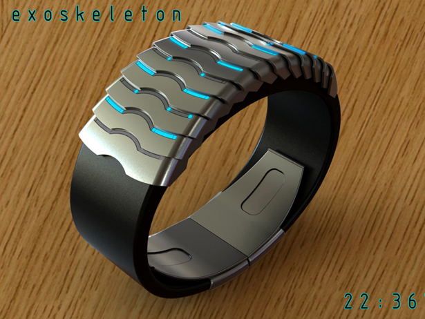 Exoskeleton Watch by Peter Fletcher