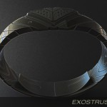 Exostrusion LED Watch Was Inspired by Rear Diffusers of Modern Sports Cars