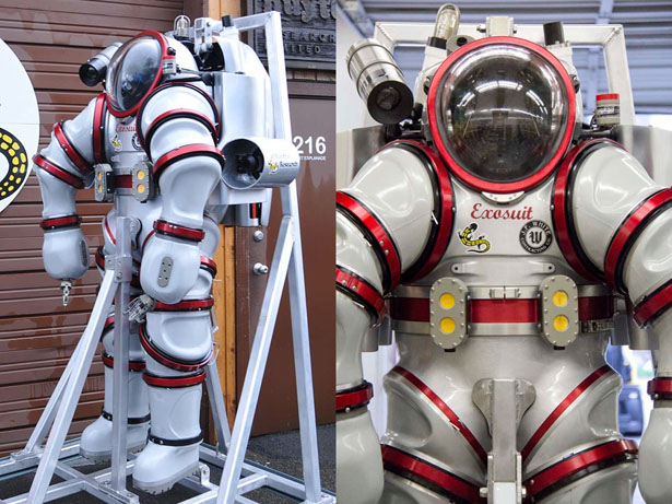Exosuit : Future Ocean Exploration Suit by Nuytco Research