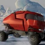 Expedition Truck Makes It Possible To Explore Polar Areas With Efficiency And Comfort