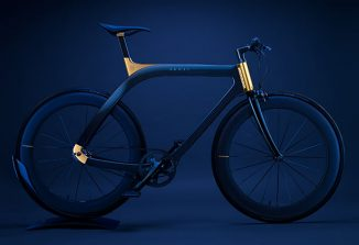 Extans Presents Jewelry-Inspired Akhal Sheen Bicycle
