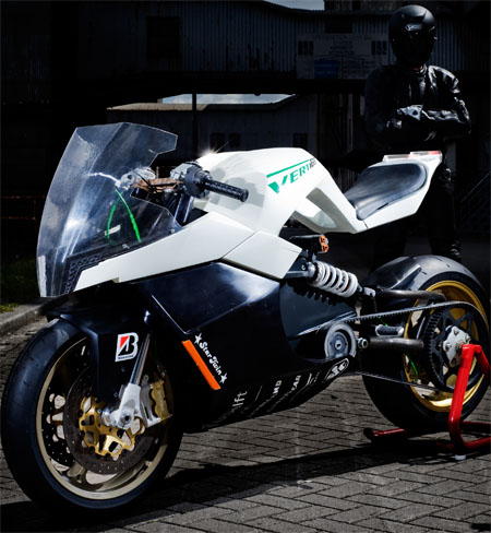 Extraordinary Sporty Driving Experience With Vertigo Electric Motorcycle