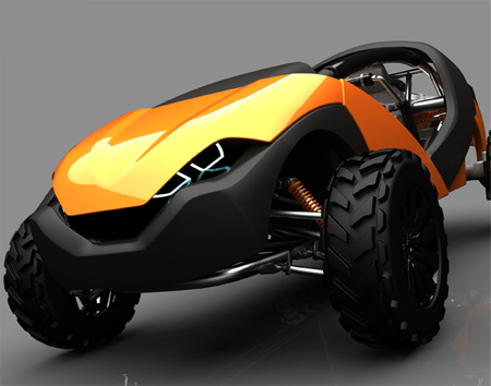 extreme powersports vehicle