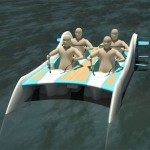 Extremely Easy And Low Cost Yacht For Everybody Can Run Without Any Need Of External Energy