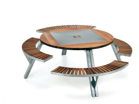 Extremis Gargantua Multi Functional Garden Table Tuvie
