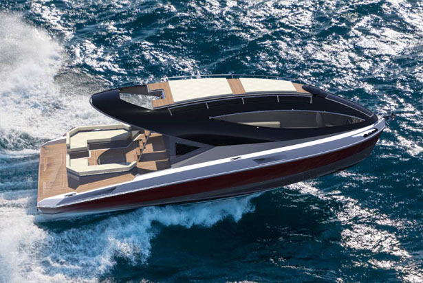 F33 Spaziale Yacht by Lazzarini Design Studio
